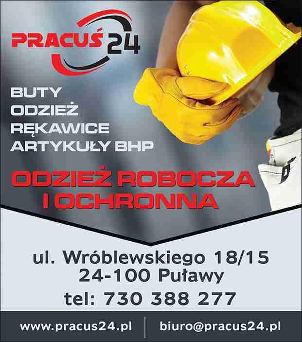4c73821720de0a PRACUŚ 24 PUŁAWY artykuły bhp i ppoż odzież robocza rękawice robocze ...